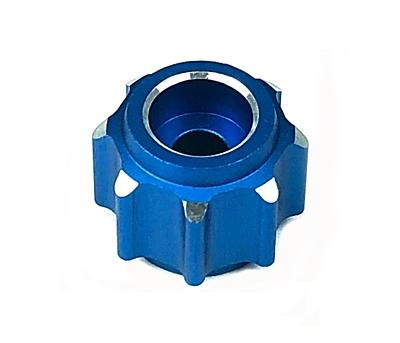 Sanwa M17 Radio + 2x RX-491 Receiver & Preinstalled Battery + Sanwa Blue Aluminum Set