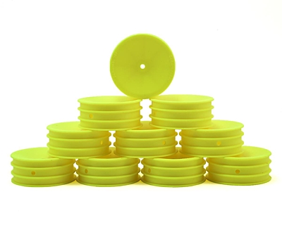 Schumacher Wheel Front 2WD - Neon Yellow (5 pairs)