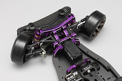 Yokomo YD-2SXII PURPLE LIMITED RWD Drift Car Kit (Graphite Chassis)
