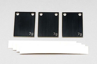 BD9 Multi Weight Plate (7g × 3pcs)