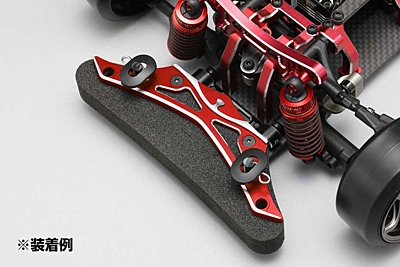 YD-2/YD-4 Aluminum Front Bumper Brace (Red/Bevel Edge)