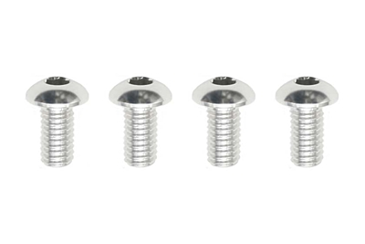 Yokomo Aluminum BH Socket Screw M3×6mm (4pcs)