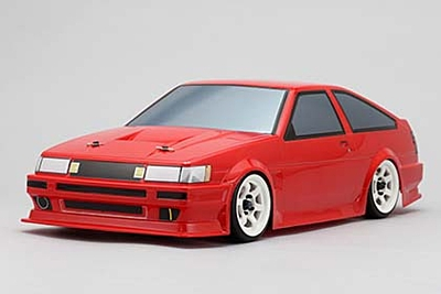 Yokomo Body Set for HAYASHI AE86 LEVIN (Graphic decal less)