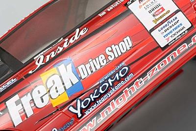 Yokomo D-MAX Diversion ADVAN One-Via Body Set