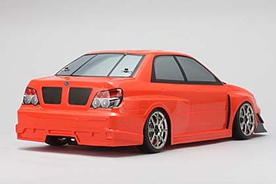 Yokomo Body Set for YUKES SYMS GDB IMPREZA (Graphic decal less)