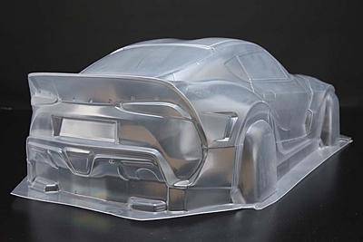 Yokomo PANDEM GR Supra Clear Lexan Body (Decals included)