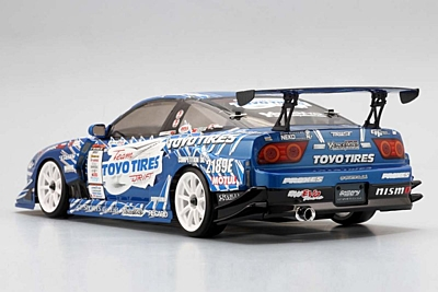 Yokomo Team TOYO TIRES DRIFT with GP SPORTS 180SX Body Set