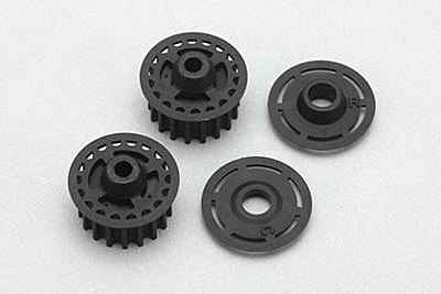 YZ-4 Center & Rear Pulley w/Frange